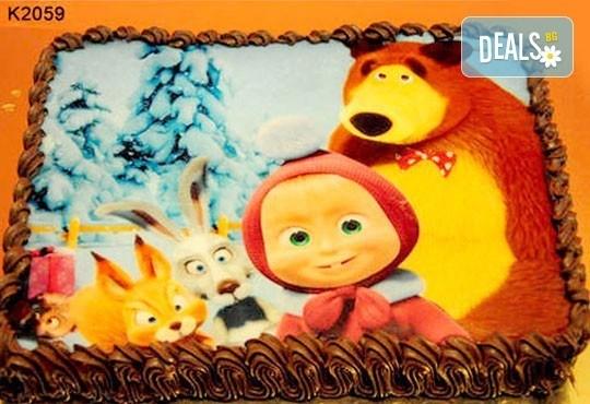 Запомнящ се рожден ден! Вкусна торта /избор от 29 картинки/ и пълнеж по избор от Виенски салон Лагуна! Предплати 1лв! - Снимка 2