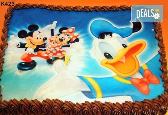 Запомнящ се рожден ден! Вкусна торта /избор от 29 картинки/ и пълнеж по избор от Виенски салон Лагуна! Предплати 1лв! - Снимка 1