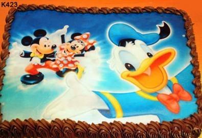 Запомнящ се рожден ден! Вкусна торта /избор от 29 картинки/ и пълнеж по избор от Виенски салон Лагуна! Предплати 1лв!