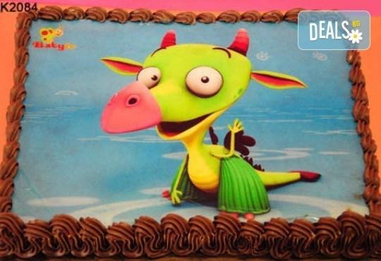 Запомнящ се рожден ден! Вкусна торта /избор от 29 картинки/ и пълнеж по избор от Виенски салон Лагуна! Предплати 1лв! - Снимка 6