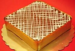 Торта Нутела с шоколад, бисквити и маскарпоне от Виенски салон Лагуна! Предплати 1лв - Снимка