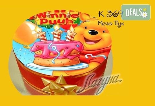 Детска торта с избор от над 2000 декорации, както и вкус по избор от Виенски салон Лагуна! Предплатете сега 1лв! - Снимка 8