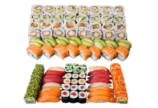 Голямо суши от Sushi King! Вземете 108 перфектни суши хапки в cуши сет Shogun *Special* на страхотна цена! - Снимка 1