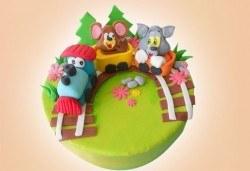 За най-малките! Детски торти с Мечо Пух и Смърфовете от Джорджо Джани