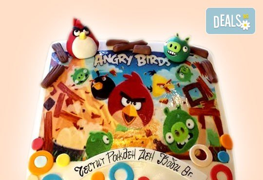За най-малките! Детска торта с Мечо Пух, Смърфовете, Спондж Боб и други герои от Сладкарница Джорджо Джани - Снимка 6