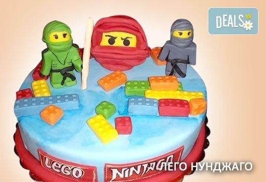 За най-малките! Детска торта с Мечо Пух, Смърфовете, Спондж Боб и други герои от Сладкарница Джорджо Джани - Снимка 22