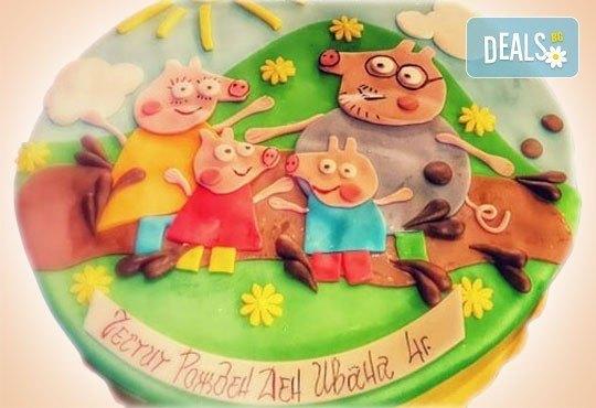 За най-малките! Детска торта с Мечо Пух, Смърфовете, Спондж Боб и други герои от Сладкарница Джорджо Джани - Снимка 25