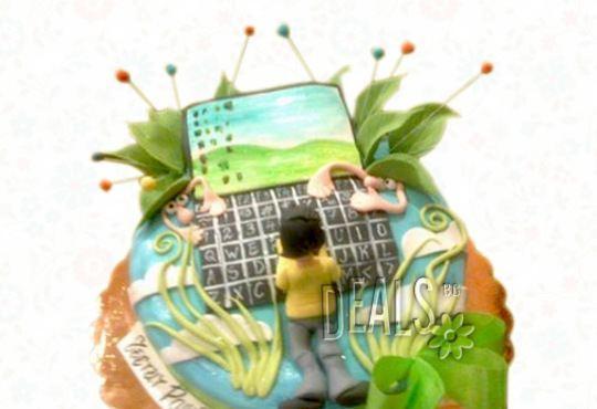 Детска АРТ торта с фигурална ръчно изработена декорация с любими на децата герои от Сладкарница Джорджо Джани - Снимка 15