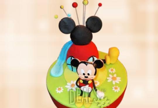 Детска АРТ торта с фигурална ръчно изработена декорация с любими на децата герои от Сладкарница Джорджо Джани - Снимка 12