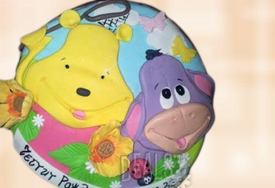 Детска АРТ торта с фигурална ръчно изработена декорация с любими на децата герои от Сладкарница Джорджо Джани - Снимка 17