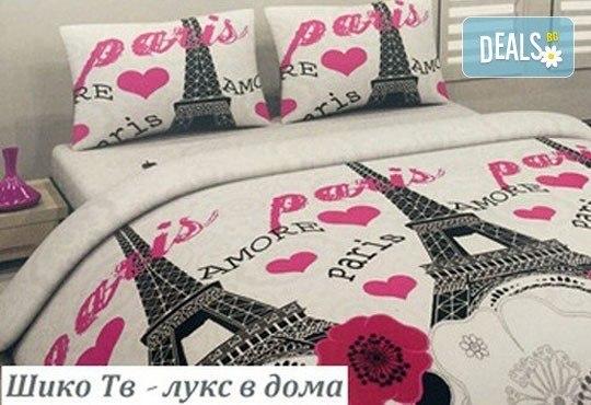 За сладки сънища! Луксозен спален комплект за приста, изработен от хасе - 100% памук от Шико - ТВ! - Снимка 5
