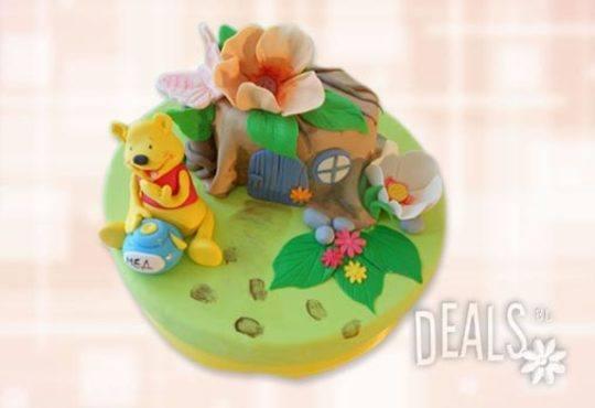 Красиви детски торти за момичета с принцеси и приказни феи + ръчно моделирана декорация от Сладкарница Джорджо Джани - Снимка 14