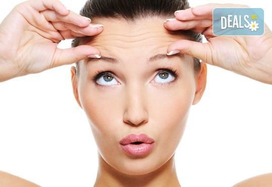 Победете бръчките на лицето с ботокс подмладяваща терапия на цяло лице – чело, гневна бръчка и околоочен контур - Снимка 3
