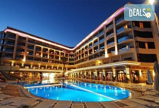 Майски празници в Мармарис, Турция! Golden Rock Beach 5*, 5 нощувки на база All Inclusive, възможност за транспорт - Снимка 1