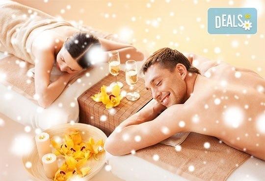 Коледна емоция за двама! 60-минутен релаксиращ масаж на цяло тяло за двойки, само за празника в студио GIRО - Снимка 3