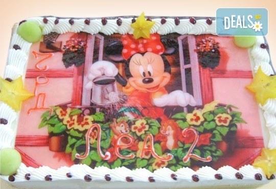 Зарадвайте детето с торта със снимка на любим герой от Сладкарница Орхидея - Снимка 4