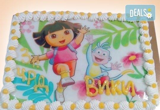 Зарадвайте детето с торта със снимка на любим герой от Сладкарница Орхидея - Снимка 5