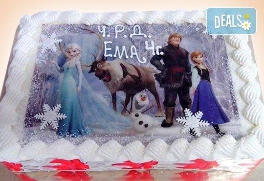 Зарадвайте детето с торта със снимка на любим герой от Сладкарница Орхидея - Снимка 2