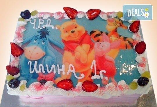 Зарадвайте детето с торта със снимка на любим герой от Сладкарница Орхидея - Снимка 8