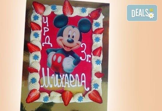 Зарадвайте детето с торта със снимка на любим герой от Сладкарница Орхидея - Снимка 7