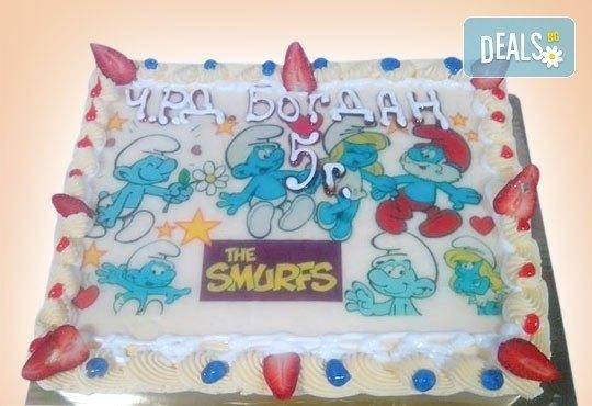 Зарадвайте детето с торта със снимка на любим герой от Сладкарница Орхидея - Снимка 6
