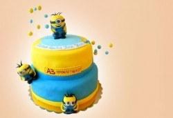 Специално за момчета! Детски торти с коли и герои от филмчета с ръчно моделирана декорация от Сладкарница Джорджо Джани - Снимка