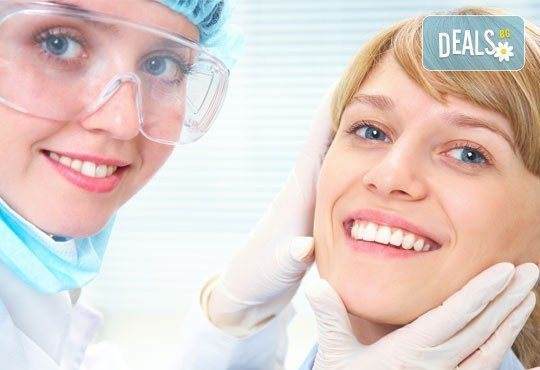 Почистване на плака и зъбен камък, полиране с ултразвук и 25% отстъпка от всички услуги от дентален кабинет д-р Снежина Цекова - Снимка 1