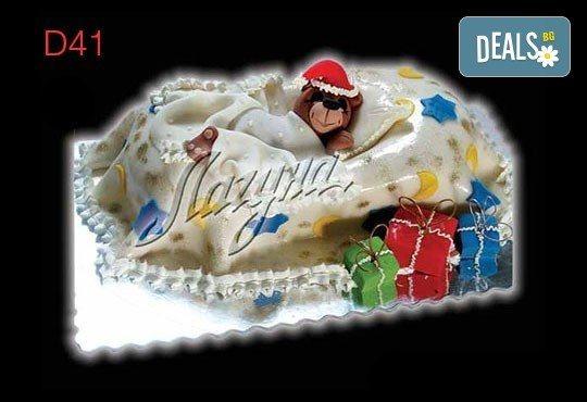 Нещо специално за Коледа! 3D Коледни торти, избор между 5 варианта от Виенски салон Лагуна! Предплатете сега 1 лв. - Снимка 4