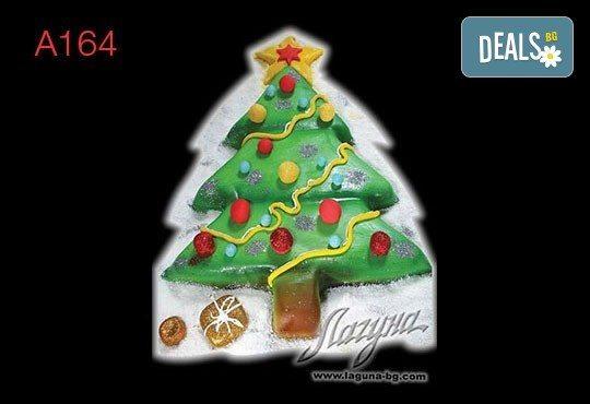 Нещо специално за Коледа! 3D Коледни торти, избор между 5 варианта от Виенски салон Лагуна! Предплатете сега 1 лв. - Снимка 1