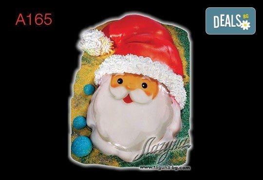 Нещо специално за Коледа! 3D Коледни торти, избор между 5 варианта от Виенски салон Лагуна! Предплатете сега 1 лв. - Снимка 3