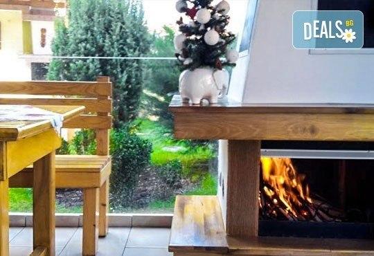 Декември в Рила! 1 нощувка в двойна стая в къща за гости Кюркчиеви, Сапарева баня, ползване на камина и барбекю - Снимка 9