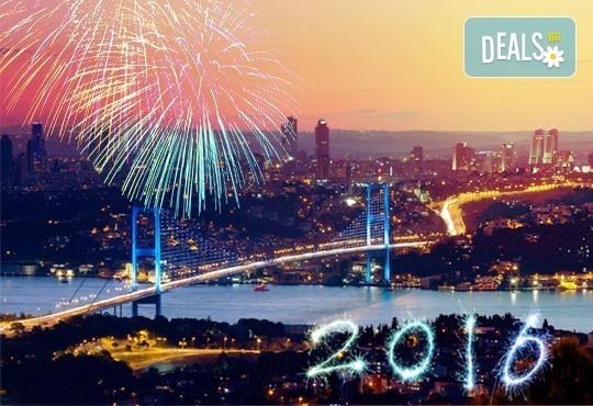 Нова Година в Истанбул! 3 нощувки със закуски в хотел Vatan Asur 4*, транспорт, водач и посещение на Одрин и МОЛ Форум! - Снимка 1