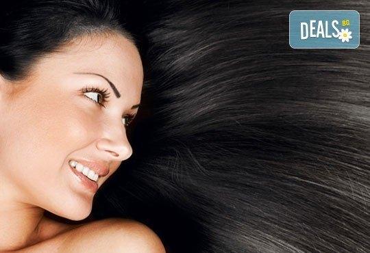 ''Полиране'' на коса, терапия според типа и състоянието й и подстригване и подсушаване в салон Женско царство! - Снимка 1