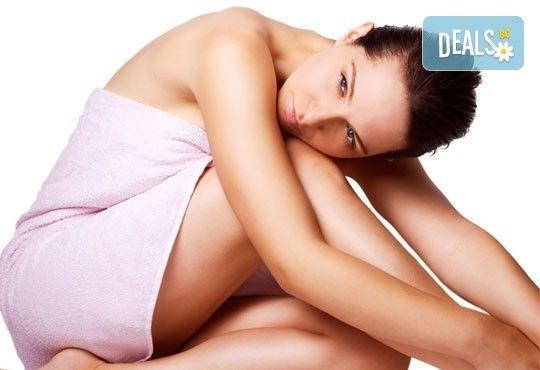 Извайте тялото си с тройна антицелулитна терапия на цели бедра и седалище с 1 или 10 процедури от център Шърмейн - Снимка 1