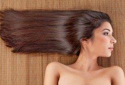 Полиране на коса, терапия с инфраред преса и подстригване в салон Хасиенда