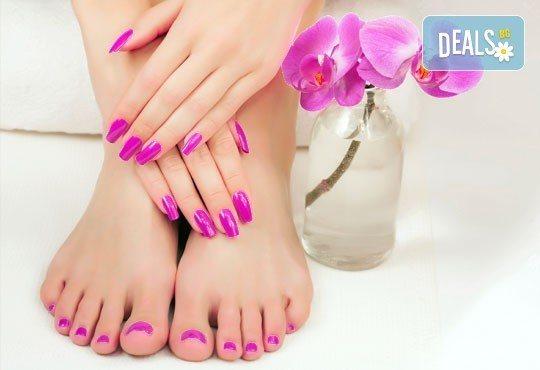 Поглезете се със SPA педикюр и класически маникюр в салон за красота АБ, бонус 20% отстъпка на масаж по избор - Снимка 3