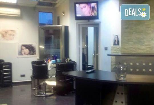 Почистване на лице в 8 стъпки с антибактериaлни продукти GiGi и бонус кола маска на горна устна, салон Diamante Beauty - Снимка 6