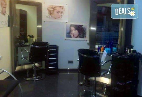 Боядисване с боя на клиента по избор, подстригване, измиване и подсушаване/оформяне със сешоар в Diamante Beauty! - Снимка 5