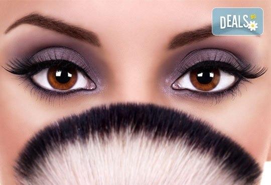 Перманентен грим на цяла вежда, устни контур или очна линия на горен клепач в NSB Beauty Center - Снимка 2