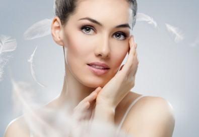 За чиста и гладка кожа! Мануално почистване на лице в 8 стъпки и почистване на вежди по избор от салон Sassy - Снимка