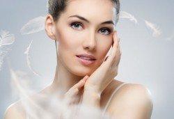 Мануално почистване на лице в 8 стъпки и почистване на вежди, салон Sassy