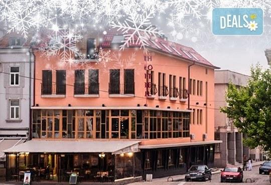 Нова година в хотел-ресторант Виктория, Панагюрище! 2/3 нощувки със закуски, обяд, празнична вечеря и програма! - Снимка 1