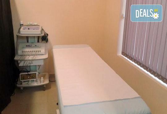 Пет процедури антицелулитен масаж на бедра и седалище с масла и гелове с кофеин и L-carnitine, салон за красота АБ - Снимка 7
