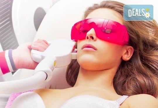 За перфектна кожа! Лечение на петна и изравняване на тена на лицето или шията и деколтето с IPL в Син Стайл! - Снимка 2