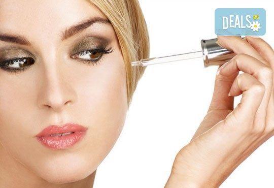 Почистване на лице с гел серум с хиалуронова киселина или колаген, маска за дълбока хидратация и бонус, студио Be Happy - Снимка 2