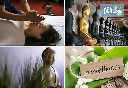 Тибетски масаж Ку Ние, йонна детоксикация или Hot Stone терапия и тест за определяне на доша в център Green Health! - Снимка 1