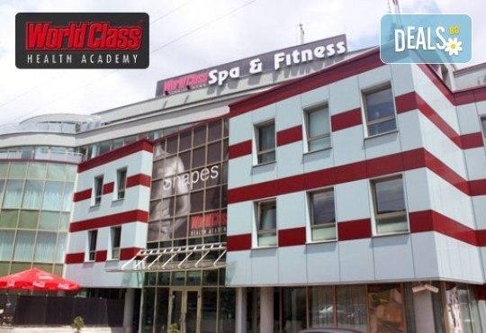 Едномесечна карта за неограничени посещения на фитнес, групови спортни занимания, басейни и СПА зона в World Class Health Academy Spa & Fitness! - Снимка 12
