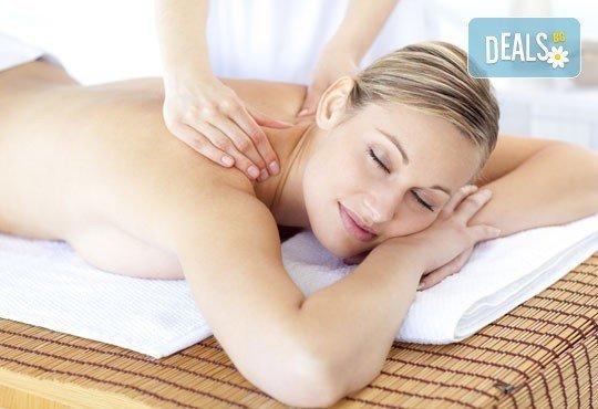 Отпуснете се максимално! Класически, арома или тонизиращ масаж на цяло тяло в Център за масажи Люлин - Снимка 2