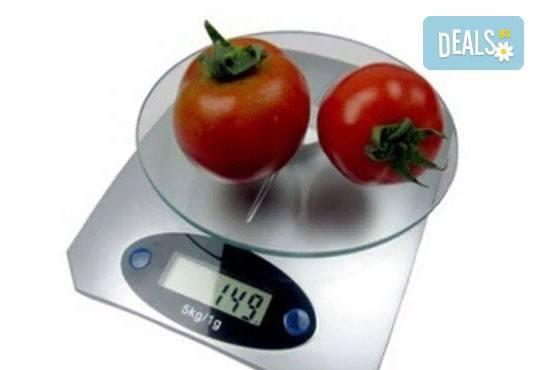 Удобно, лесно и практично! Вземете електронна кухненска везна до 5 кг. от Lesnokupi.bg! Предплатете 5 лв.! - Снимка 1