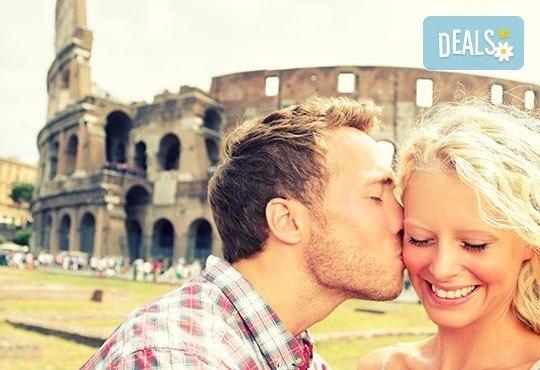 Самолетен уикенд за Св. Валентин в Рим, с Лале тур! 3 нощувки със закуски в хотел 3*, самолетен билет и летищни такси - Снимка 1